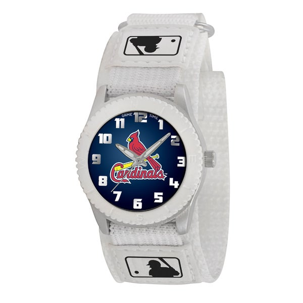 Game Time MLB St. Louis Cardinals White Rookie Series Watch