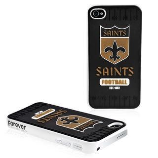 Forever Collectibles NFL New Orleans Saints iPhone 4/ 4S Hard Protective Phone Case