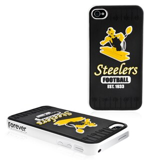 Forever Collectibles NFL Pittsburgh Steelers iPhone 4/ 4S Hard Protective Phone Case
