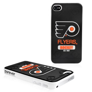 Forever Collectibles NHL Philadelpia Flyers iPhone 4/4S Hard Protective Phone Case