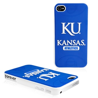 Forever Collectibles NCAA Kansas Jayhawks iPhone 4/4S Hard Protective Phone Case