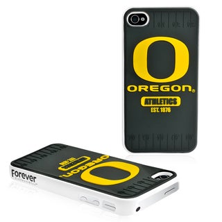 Forever Collectibles NCAA Oregon Ducks iPhone 4/4S Hard Protective Phone Case