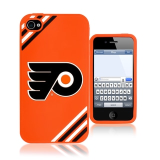 Forever Collectibles NHL Philadelphia Flyers iPhone 4/4S Silicone Phone Case