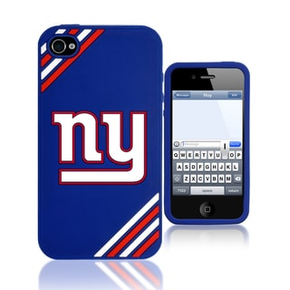 Forever Collectibles NFL New York Giants iPhone 4/ 4S Silicone Phone Case