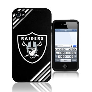 Forever Collectibles NFL Oakland Raiders iPhone 4/ 4S Silicone Phone Case