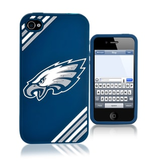 Forever Collectibles NFL Philadelphia Eagles iPhone 4/ 4S Silicone Phone Case