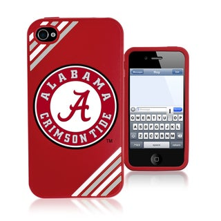 Forever Collectibles NCAA Alabama Crimson Tide iPhone 4/4S Silicone Phone Case