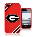 Forever Collectibles NCAA Georgia Bulldogs iPhone 4/ 4S Silicone Phone Case