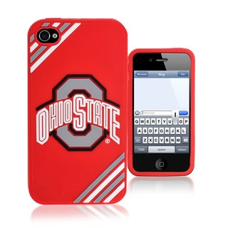 Forever Collectibles NCAA Ohio State Buckeyes iPhone 4/4S Silicone Phone Case