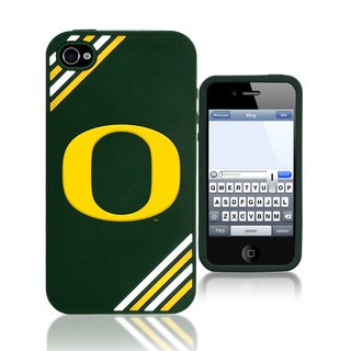 Forever Collectibles NCAA Oregon Ducks iPhone 4/4S Silicone Phone Case