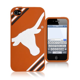 Forever Collectibles NCAA Texas Longhorns iPhone 4/4S Silicone Phone Case