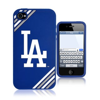 Forever Collectibles MLB Los Angeles Dodgers iiPhone 4/ 4S Silicone Phone Case