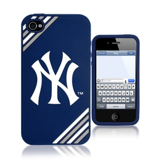 Forever Collectibles MLB New York Yankees 4/ 4S Silicone Phone Case