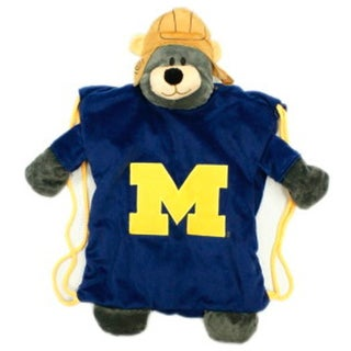 Forever Collectibles NCAA Michigan Wolverines Backpack Pal