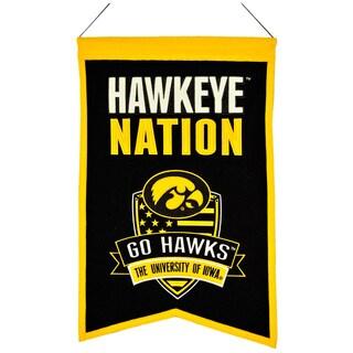 NCAA Iowa Hawkeyes Wool Nations Banner