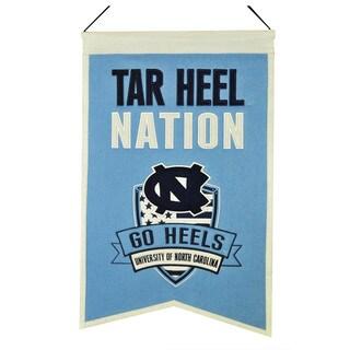 NCAA North Carolina Tar Heels Wool Nations Banner