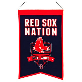 MLB Boston Red Sox Wool Nations Banner