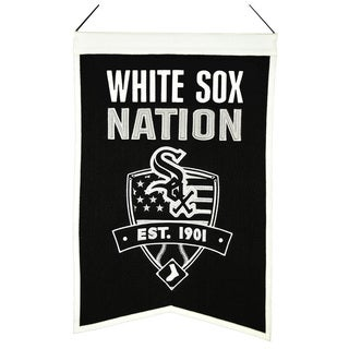MLB Chicago White Sox Wool Nations Banner