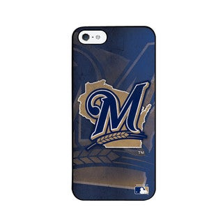 Pangea MLB Milwaukee Brewers Big Logo iPhone 5 Case