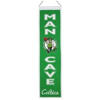 NBA Boston Celtics Wool Man Cave Embroidered Banner