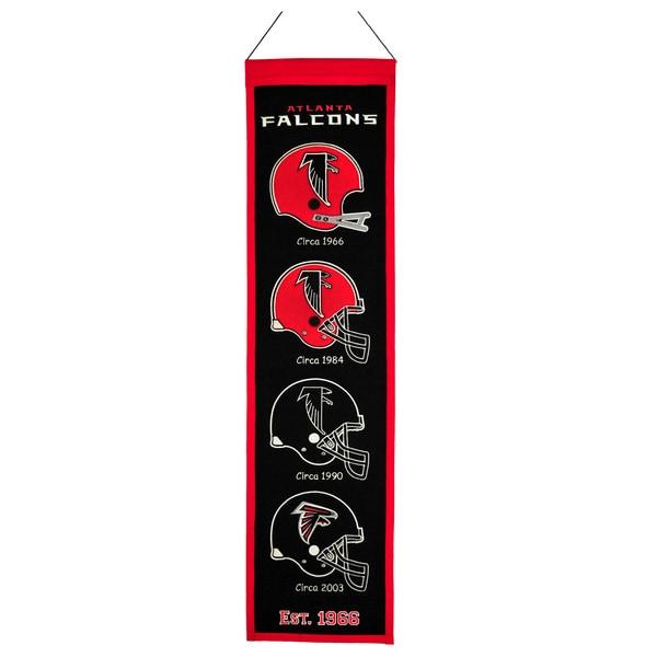 NFL Atlanta Falcons Wool Heritage Banner 12056329