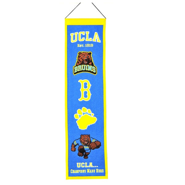 NCAA UCLA Bruins Wool Heritage Banner