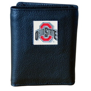 NCAA Ohio State Buckeyes Leather Tri-fold Wallet