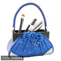 Jacki Design Elegant Rose Handbag Brush Holder