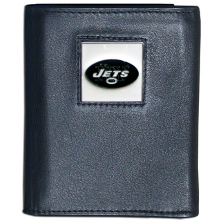 NFL New York Jets Executive Leather Tri-fold Wallet