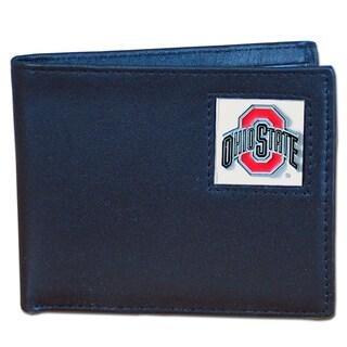 NCAA Ohio State Buckeyes Leather Bi-fold Wallet