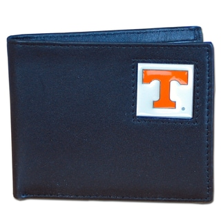 NCAA Tennessee Volunteers Leather Bi-fold Wallet