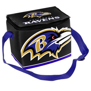 Forever Collectibles NFL Baltimore Ravens Full Zip Lunch Cooler