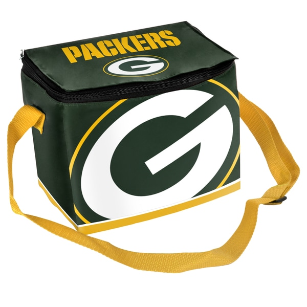 Forever Collectibles NFL Green Bay Packers Full Zip Lunch Cooler