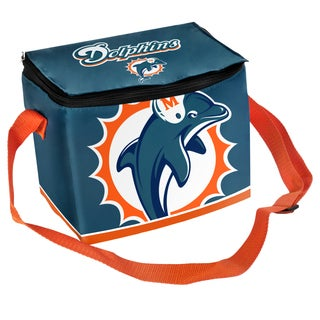 Forever Collectibles NFL Miami Dolphins Full Zip Lunch Cooler
