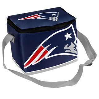 Forever Collectibles NFL New England Patriots Full Zip Lunch Cooler