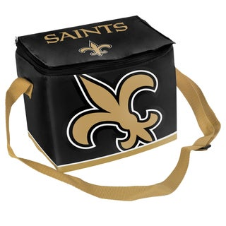 Forever Collectibles NFL New Orleans Saints Full Zip Lunch Cooler