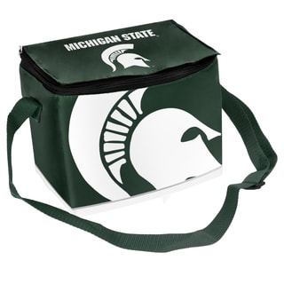 Forever Collectibles NCAA Michigan State Spartans Full Zip Lunch Cooler