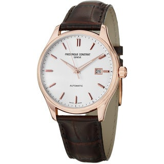 Frederique Constant Men's 'Index' Rose Goldtone Watch
