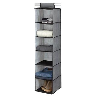 Kennedy Home Collection Grey 6-shelf Sweater Organizer