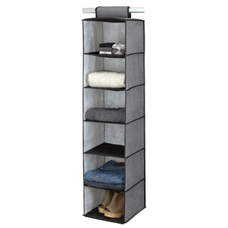 Kennedy Home Collection Grey 6-shelf Sweater Organizer