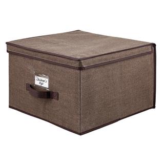Kennedy Home Collection Espresso 16-inch Jumbo Storage Box