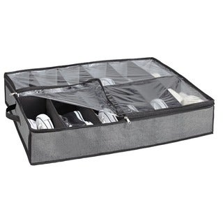 Kennedy Home Collection Grey UTB Shoe Organizer