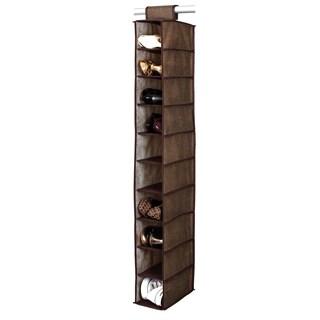 Kennedy Home Collection Espresso 10-shelf Shoe Organizer