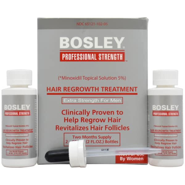 Bosley Men's Hair Regrowth Extra Strength 2-ounce Treatment 12056948