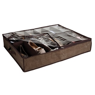 Kennedy Home Collection Espresso UTB Shoe Organizer