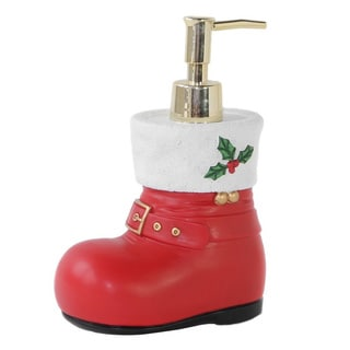 Dream Bath Christmas Shoes Lotion Pump Dispenser