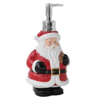 Dream Bath Santa Claus Lotion Pump Dispenser