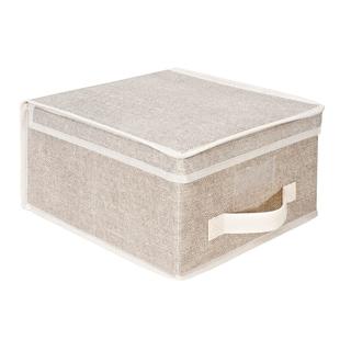 Kennedy Home Collection Beige Medium Storage Box