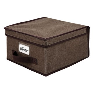 Kennedy Home Collection Espresso Medium Storage Box