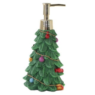 Dream Bath Christmas Tree Lotion Pump Dispenser